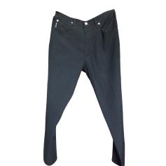 Pantalon droit ARMANI JEANS Noir