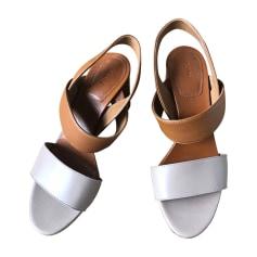 Sandali con tacchi CHLOÉ Beige, cammello