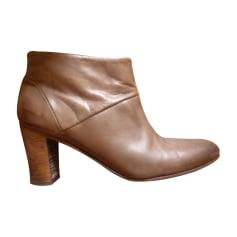 Bottines & low boots à talons ANTHOLOGY PARIS Marron
