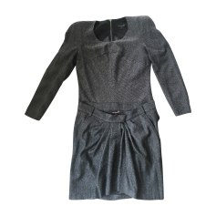 Tailleur jupe ISABEL MARANT Gris, anthracite