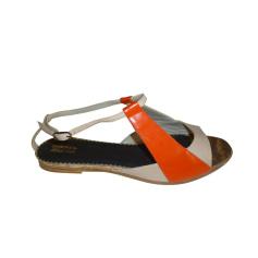 Sandali piatti DIESEL Multicolore