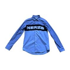 Chemise KENZO Bleu, bleu marine, bleu turquoise