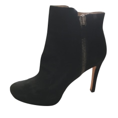 High Heel Ankle Boots PURA LOPEZ Black