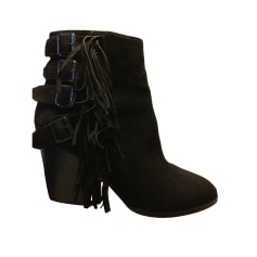 Bottines & low boots à talons THE KOOPLES Noir