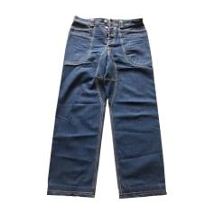 Jeans large KENZO Bleu, bleu marine, bleu turquoise