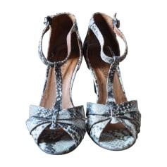 Sandales compensées ANTHOLOGY PARIS Marron