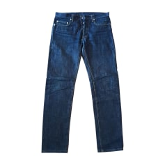 Straight Leg Jeans DIOR HOMME Blue, navy, turquoise