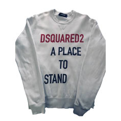 Sweat DSQUARED2 Blanc, blanc cassé, écru