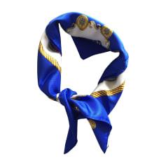 Silk Scarf HERMÈS Carré Blue, navy, turquoise