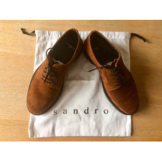 Lace Up Shoes SANDRO Brown