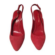 Pumps, Heels SERGIO ROSSI Red, burgundy