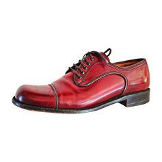 Chaussures à lacets BALLY Rouge, bordeaux