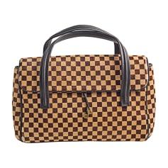 Non-Leather Handbag LOUIS VUITTON Brown 97e550e986f2c