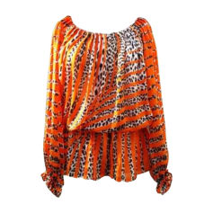 Blouse BLUMARINE Orange