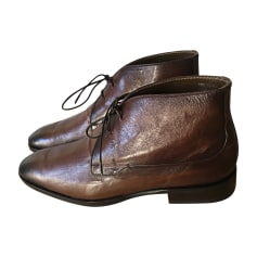 Bottines BERLUTI Marron