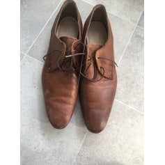 Lace Up Shoes ZARA Brown