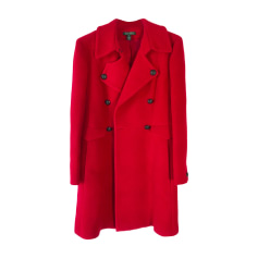 Manteau RALPH LAUREN Rouge, bordeaux