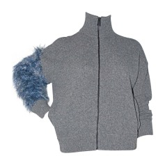 Gilet, cardigan JUST CAVALLI Gris, anthracite