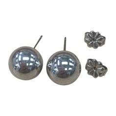 Boucles d'oreilles TIFFANY & CO. Argenté, acier