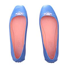 Ballet Flats HERMÈS Blue, navy, turquoise
