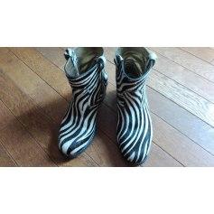 Bottines & low boots à talons LA BOTTE GARDIANE Noir