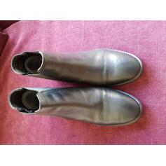 Bottines & low boots plates TOPSHOP Noir