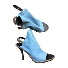 Sandales à talons BALENCIAGA Bleu, bleu marine, bleu turquoise
