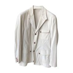 Veste DUNHILL Blanc, blanc cassé, écru