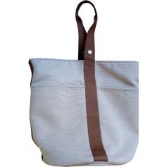 Non-Leather Handbag HERMÈS Beige, camel