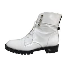 Chaussures à lacets  DIOR Blanc, blanc cassé, écru