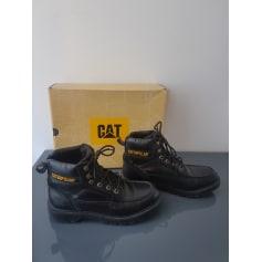 Lace Up Shoes CATERPILLAR Black
