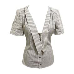 Camicia GUCCI Bianco, bianco sporco, ecru