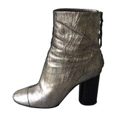 Bottines & low boots à talons ISABEL MARANT Doré, bronze, cuivre
