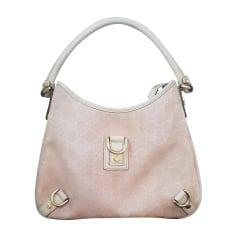 Leather Shoulder Bag GUCCI Hobo Pink, fuchsia, light pink