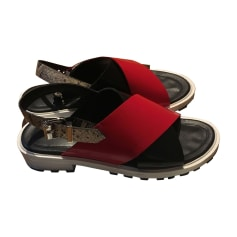 Sandales plates  KENZO Noir