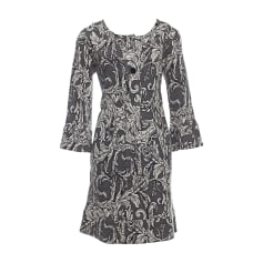 Midi Dress DIANE VON FURSTENBERG Gray, charcoal