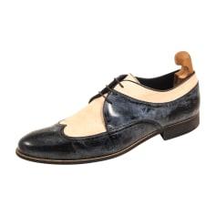 Chaussures à lacets EMPORIO ARMANI Bleu, bleu marine, bleu turquoise