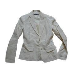 Blazer, veste tailleur RALPH LAUREN Blanc, blanc cassé, écru