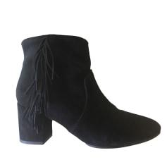 High Heel Ankle Boots BA&SH Black