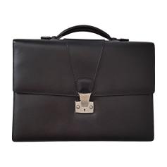 Briefcase, folder CARTIER Black