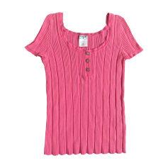 Top, T-shirt CHANEL Pink, fuchsia, light pink