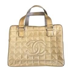 Leather Handbag CHANEL Beige, camel