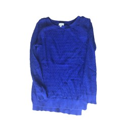 Pull CLAUDIE PIERLOT Bleu, bleu marine, bleu turquoise