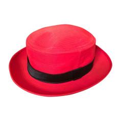 Hat CHANEL Red, burgundy