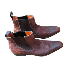Bottines SANTONI Marron