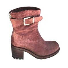 Bottines & low boots à talons FREE LANCE Prune