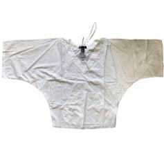 Blusa DIESEL Bianco, bianco sporco, ecru