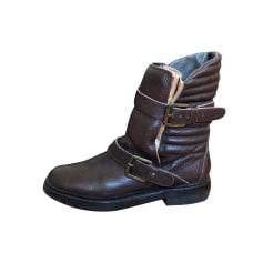 Bottines & low boots plates ZADIG & VOLTAIRE Marron