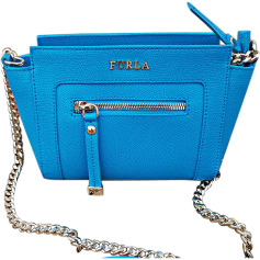 Leather Shoulder Bag FURLA Blue, navy, turquoise