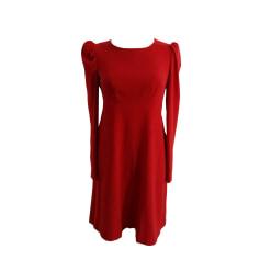 Midi Dress TARA JARMON Red, burgundy